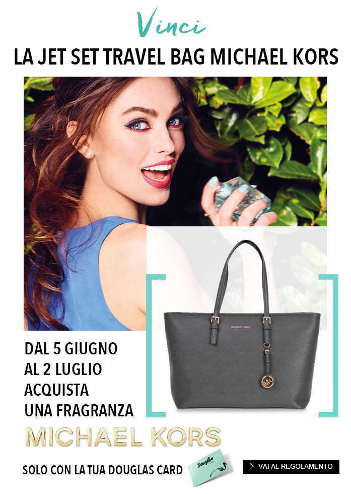 Vinci la Bag Michael Kors su douglas.it