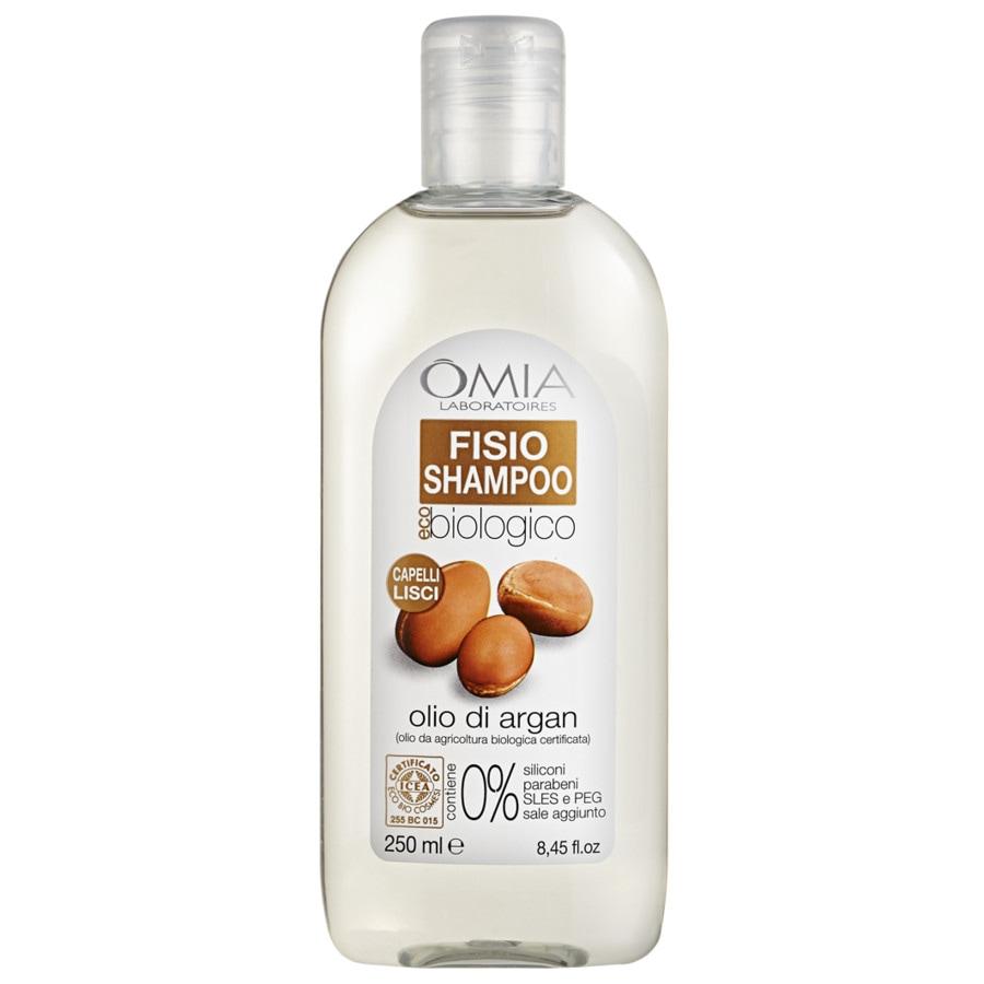 Shampoo bio per capelli lisci