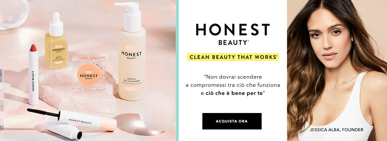 Honest Beauty Lancio